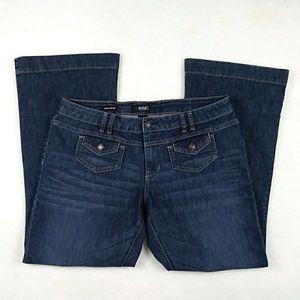 a.n.a Modern Flare Leg Jeans Petite